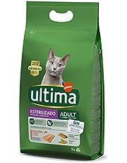 Pienso para Gatos Esterilizados Adulto con Salmón - 3kg