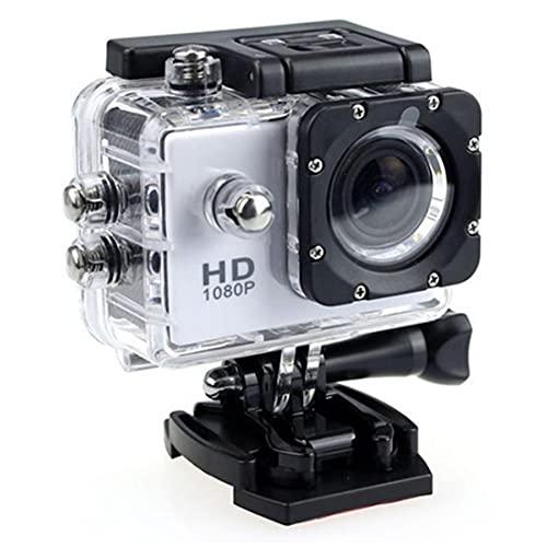 La cámara del Deporte de HD 1080P Submarino Portable Impermeable Ajuste acción de la cámara del Registrador de DV Kit para Viajar al Aire Libre Ciclismo Submarinismo Esquí Delta entusiastas de Plata