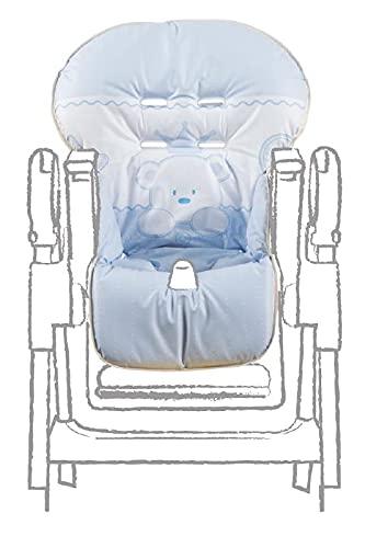 Italbaby bebé Re bordado Cubierta de PVC, luz azul
