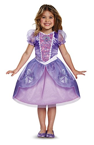 Disguise Disney Junior Sofia the First Next Chapter Classic Girls' Costume Purple/Toddler, M (3T-4T)