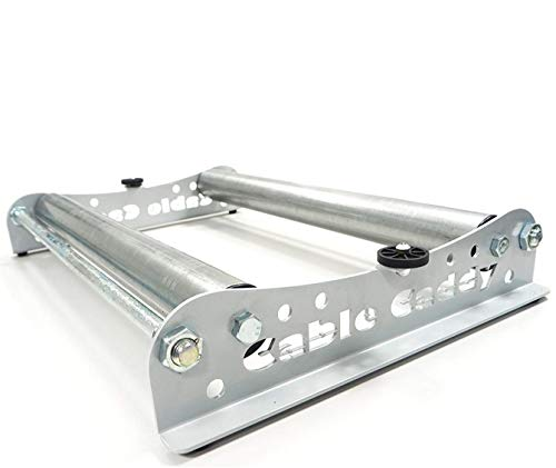 Kabelabroller, Kabelabwickler: Cable Caddy für Rollen bis 510 mm - verschiedene Farben verfügbar - (Silber)