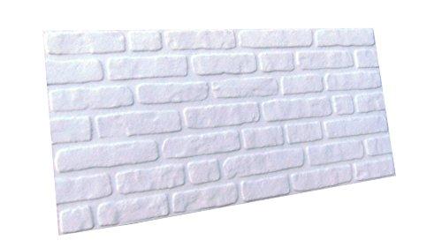 3D Brick Effect Wall Ceiling Panels POLYSTYRENE Tiles Indoor Quick FIX,Easy DIY (DL-099)