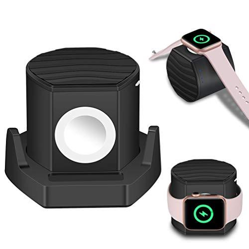 Ladegerät für Apple Watch, Portable iWatch Charger Powerbank 3000mAh [MFI Zertifiziert] magnetisches iWatch Ladegerät mit Dockingstation geeignet für die Apple Watch Series 6 5 4 3 2 1, 44/42/40/38mm