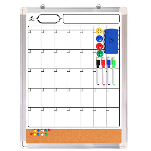 Image of Whiteboard Monthly Wall...: Bestviewsreviews