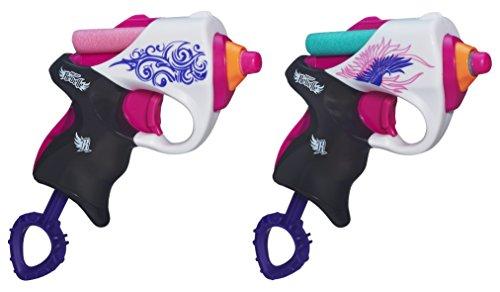 Hasbro A4807E27 - Nerf Rebelle Best Friends Blaster Doppelpack