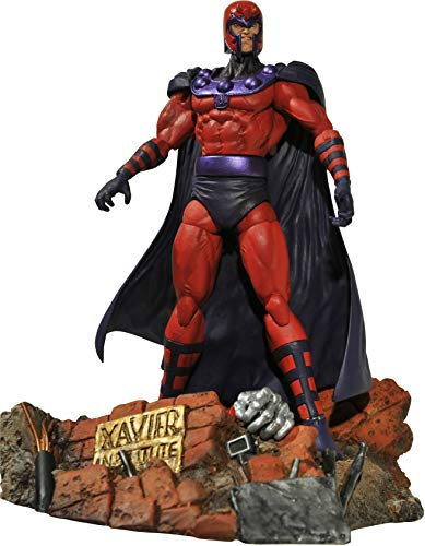 Diamond Select Toys Marvel Select: Magneto Action Figure,7 inches