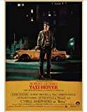 Canvas Poster Taxi Driver Movie Poster Antique Print
