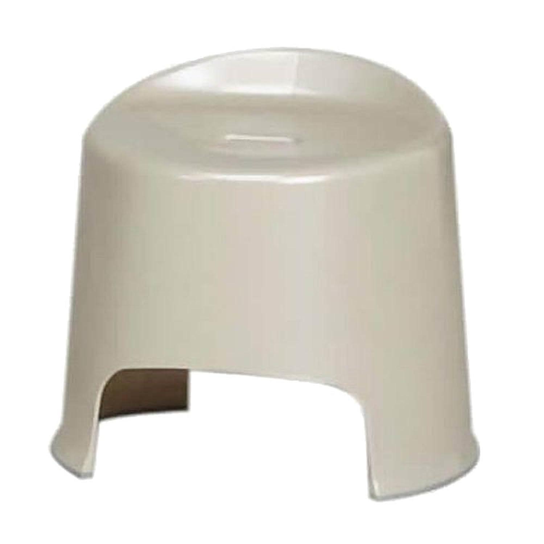 アイリスオーヤマ 風呂椅子 座面36㎝ パールベージュ BI-300AG