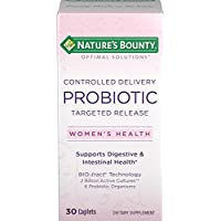 2-Pack of 30-Count Nature's Bounty Controlled Delivery Probiotic Caplets