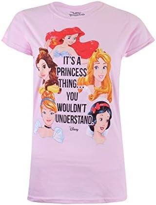 Disney A Princess Thing Camiseta para Mujer