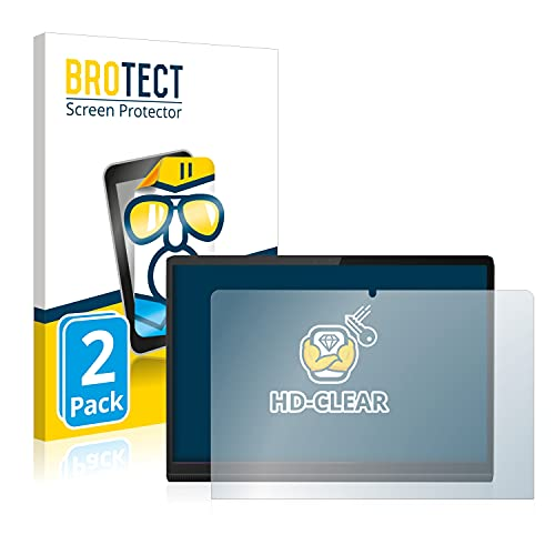 BROTECT Schutzfolie kompatibel mit Lenovo Yoga Tab 11 (2 Stück) klare Bildschirmschutz-Folie