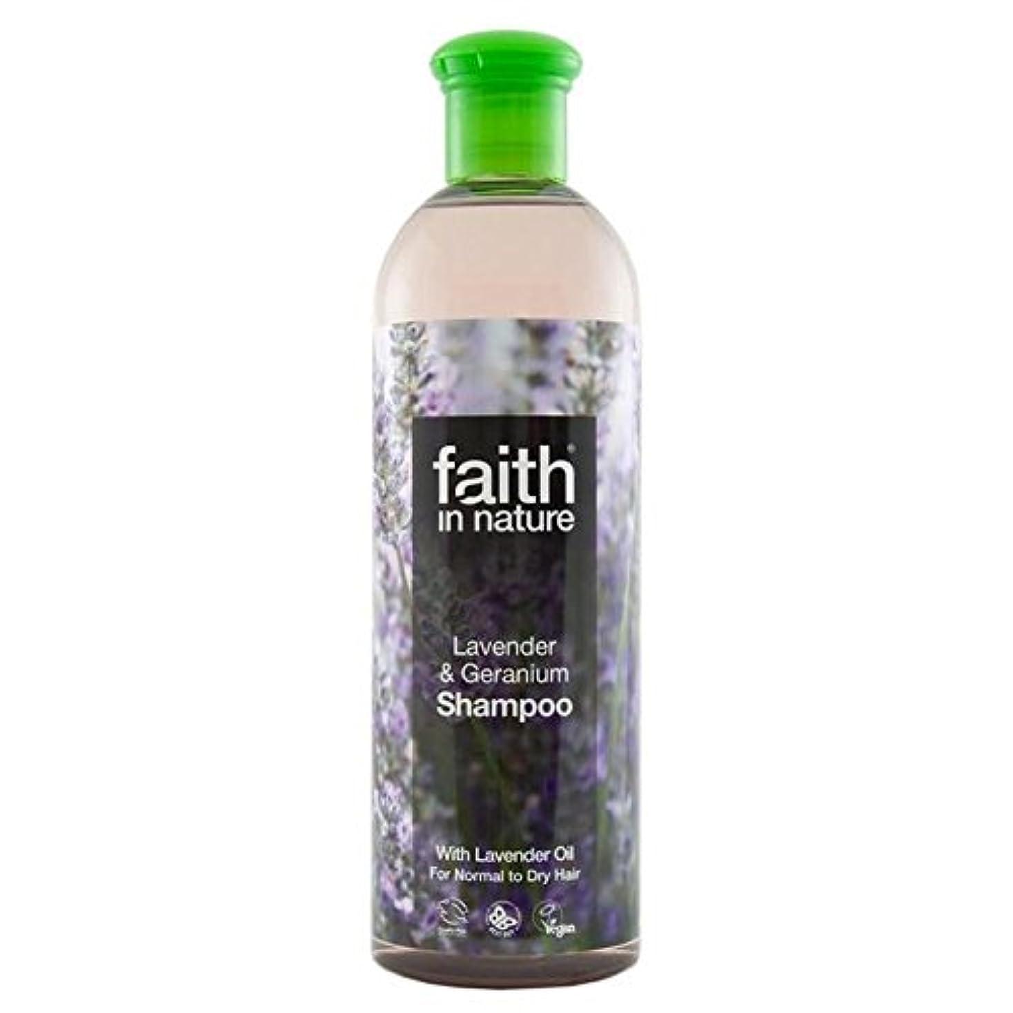 Faith in Nature Lavender & Geranium Shampoo 740ml (Pack of 6) - (Faith In Nature) 自然ラベンダー&ゼラニウムのシャンプー740ミリリットルの信仰 (x6) [並行輸入品]