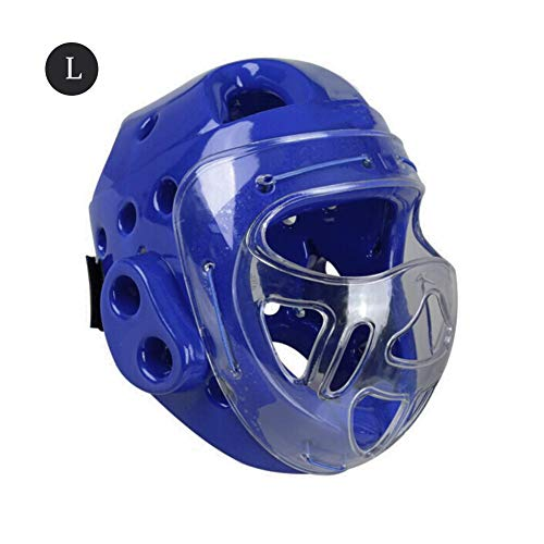 zebroau Full Face Kopfschutz Taekwondo Kopfhelm Boxen Sanda Maske, Kampfsport Kampf Kampf Training Kopfbedeckungen, Sparring Protector Gear Zero Impact, Für Erwachsene/Kinder