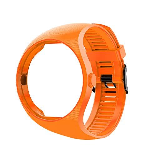 BIlinli 2021 Nuevo reemplazo de Color sólido Suave Pulsera de Silicona Correa de muñeca para Reloj Inteligente Polar M200
