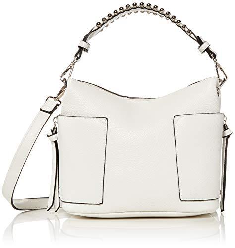 Steve Madden womens Bucket Bag, White, One Size US