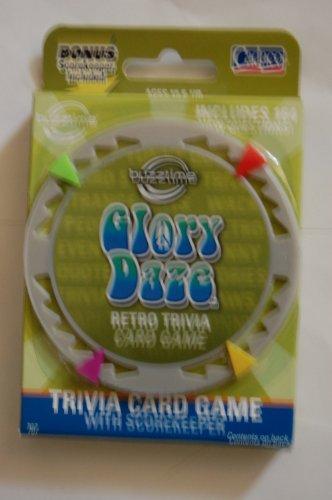 Cadaco Buzztime Glory Daze Trivia Card Game Series 1 by Cadaco Buzztime