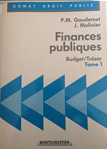 Finances publiques / budget-tresor