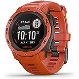 Garmin Instinct, Rugged Outdoor Watch with GPS,...