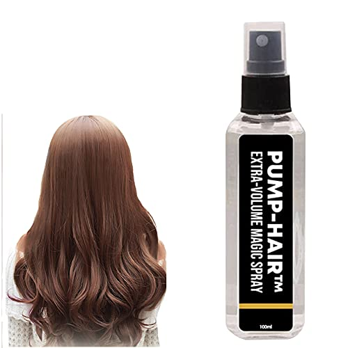 OEMINI 100ml Extra-Volume Magic Spray, Fluffy Volumizing Hair Spray Extra with Non Greasy & Non Sticky, Long-Lasting Bright,DIY Hairstyle for All Hair Types