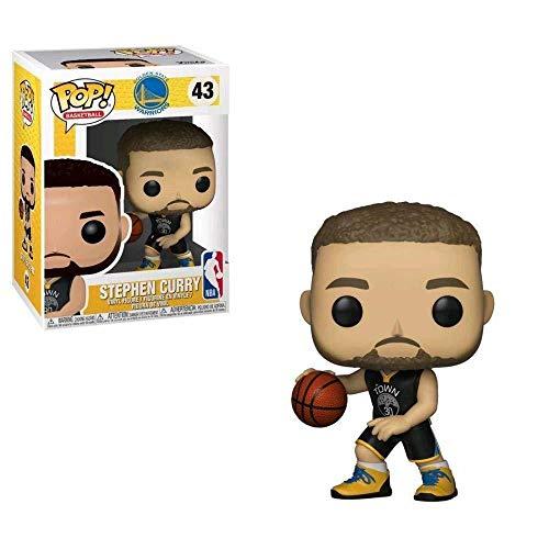 Funko - NBA: Stephen Curry Figura Coleccionable de Vinilo, Multicolor (Funko 34449)