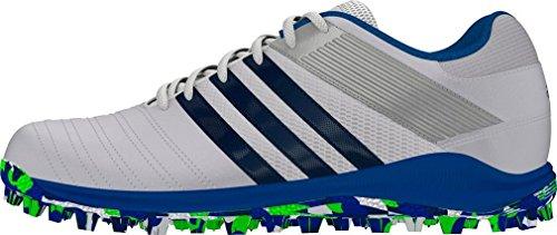 adidas adidas SRS.4 Men's Hockey Shoe, White/Blue, UK4, F 36 2/3