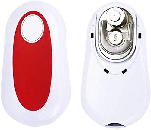 Smooth Edge Ouvre-BoîTes éLectrique Automatique, One Touch Ouvre Bocal, Accessoire De Cuisine Multifonction IdéAl Pour Les Personnes âGéEs Souffrant D'Arthrite