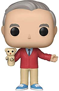 Funko Pop! Movies: A Beautiful Day in The Neighborhood - Mr. Rogers,Multicolor,3.75 inches