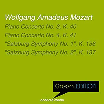 "Green Edition - Mozart: Piano Concerti Nos. 3, 4 & ""Salzburg Symphonies Nos. 1, 2"""