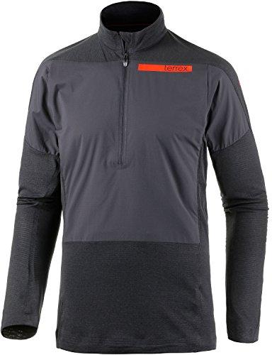 Adidas Shirt. SKYCLIMB. Terrx. Lange mouwen. Functioneel shirt. Hoogwaardig. Sport/outdoor/vrije tijd. zwart.