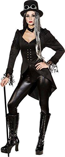 Orlob NEU Damen-Kostüm Gothic Frack, Gr. 38