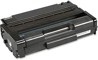 Ricoh 406465 Aficio SP 3400 3410 Toner Cartridge (Black) in Retail Packaging