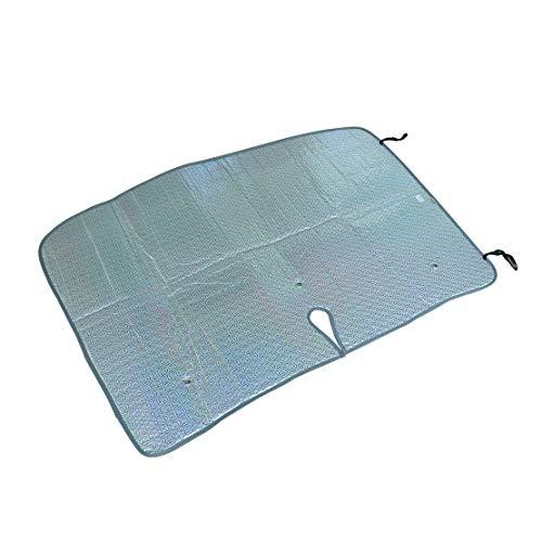 Eastar - Parasol plegable para parabrisas delantero y ventana, 120 x 90 x 0,5 cm, bloqueo UV, compatible con Honda Civic MK VIII 2006-2011