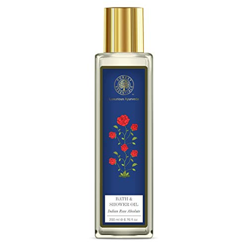 Forest Essentials Bath & Shower Oil - Indian Rose Absolute 200ml by Forest Essentials