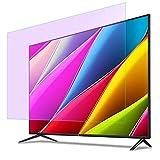 Protector de Pantalla de TV Anti-luz Azul para 32-75 Pulgadas, Filtro antideslumbrante, antiarañazos/antigolpes WKZWY (Color : HD Version, Size : 46 inch/1017x570mm)