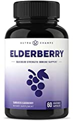 ★ PROTECT AGAINST COLD & ALLERGIES - Clinically studied for its ability to deliver fast, homeopathic relief and protection against cold and allergy symptoms, elderberry has quickly become one of the most popular sources of antioxidants available - pe...
