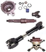 CUSTOM BUILT FOR YOUR JEEP Adams Driveshaft's Rear Driveshaft & TERAFLEX Slip Yoke Eliminator Kit Package - fits Jeep Wrangler TJ LJ XJ Cherokee (41