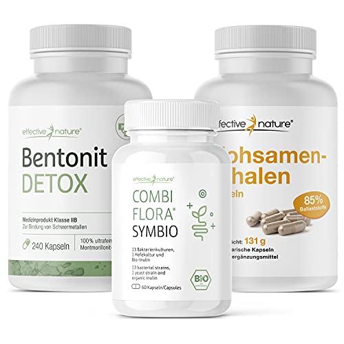 effective nature - SIMPLE CLEAN - Schonend und Effektiv - Mit Bentonit Detox, Combi Flora SymBIO und...