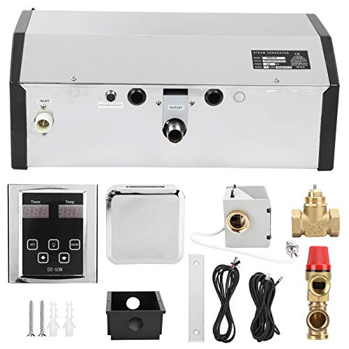 Generatore di Vapore, generatore di Bagno di Vapore Robusto e Durevole, con regolatore di Temperatura per Attrezzature da Sauna Bagno Turco Sauna