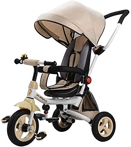 GCXLFJ Triciclo Evolutivo Toral Triciclo para niños Carrito de Juguete Infantil de...