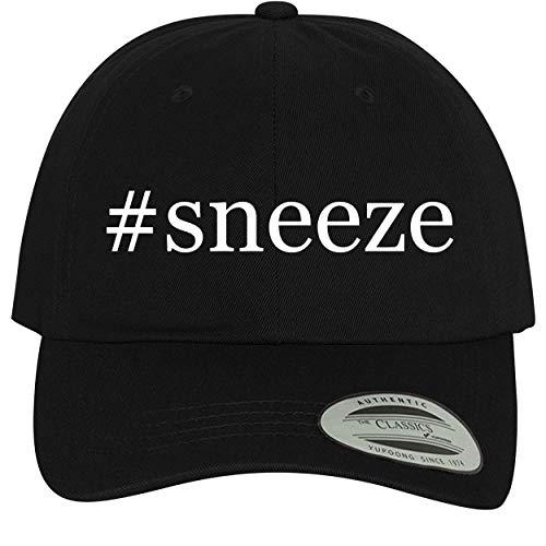 BH Cool Designs #Sneeze - Comfortable Dad Hat Baseball Cap, Black