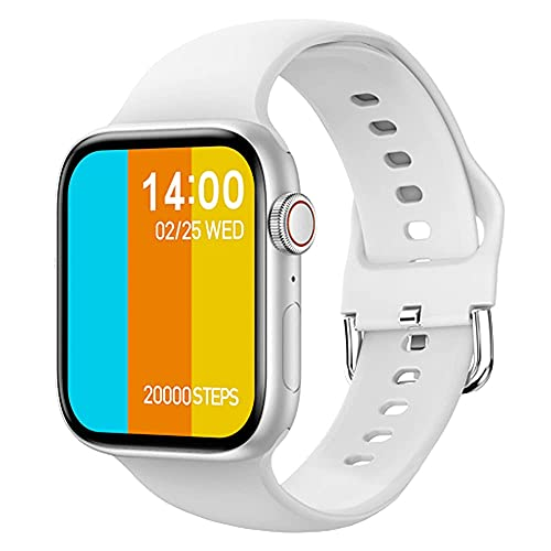 XYJ IWO 13 Pro T800 SmartWatch 2021 1.72 Pulgadas Llamada Bluetooth DIY DIY Fitness Pulsera Smart Watch Hombres Mujeres PK IWO W46 W56 Series 6, (Color: Blanco)
