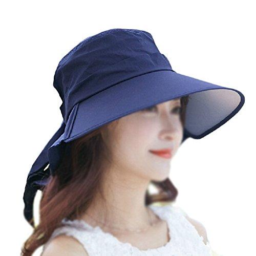 LAMEIDA Gorro de Visera Sombrero de Lona Sombrero de Playa Sombrero Pl