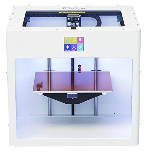 Craft – Unique cu3dp CBP trasporto-WT craftbot Plus Stampante 3d, PLA/ABS, RAL 9016, bianco