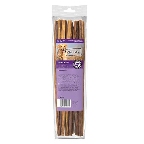 Chewies Sticks Maxi Rind Kaustangen - Hundeleckerli für große und kleine Hunde, wie Spaghetti Leckerlie Hundesnacks