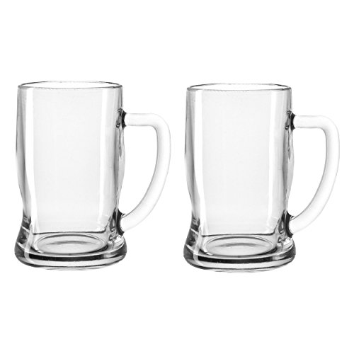 Leonardo 049457 - Bierseidel - Taverna - Glas/klar - 0,33l - spülmaschinenfest - 2 er Set