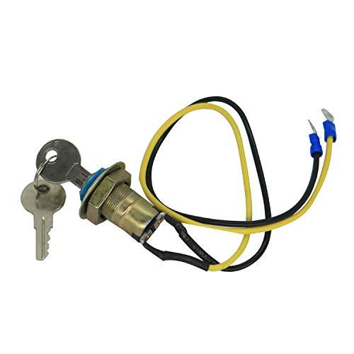8N3679C Interruptor de encendido con 2 llaves de repuesto para Ford Tractor 9N 2N 8N NAA Jubilee 501 600 601 700 701 800 961 971 2000 4000