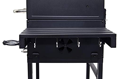 CosmoGrill New Outdoor XL Smoker Barbecue Charcoal Portable BBQ Grill Garden