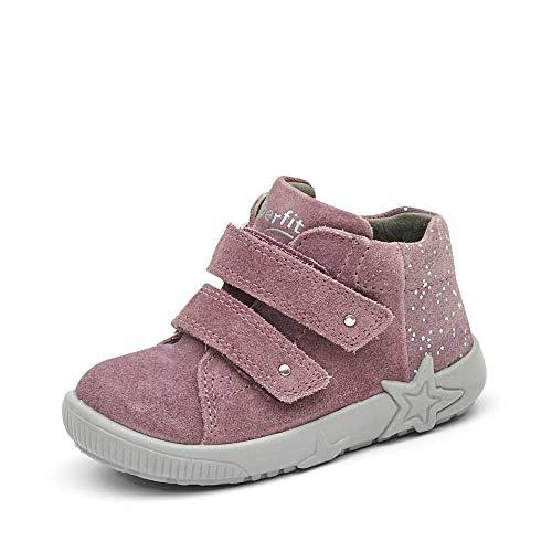 Superfit Baby Mädchen STARLIGHT Lauflernschuh, LILA 8500, 24 EU