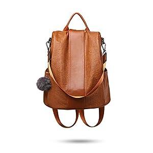 Tisdaini® Bolsos Mochila Mujer moda casual viaje Retro Bolsos de mano mochila (Marrón a)   DeHippies.com
