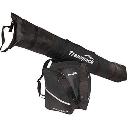 Transpack Alpine Sport Kids/Juniors Ski Bag and Boot Backpack Combo
